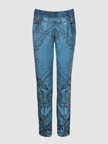 Pyjama Tattoo Trousers / Blue